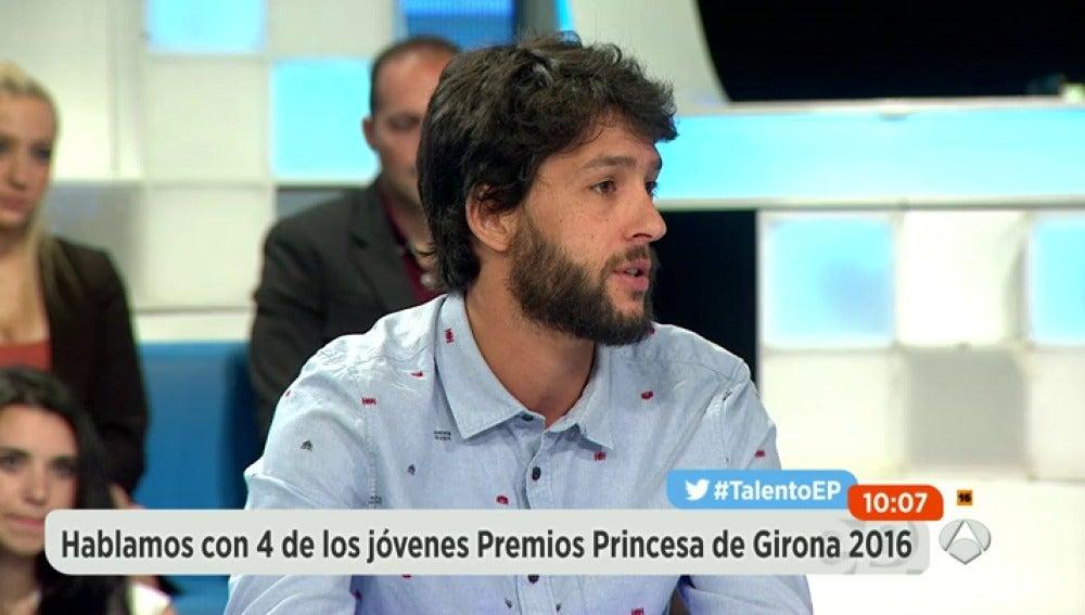 Frame 79.995562 de: Cuatro jóvenes talentos ganan los premios Princesa de Girona 2016