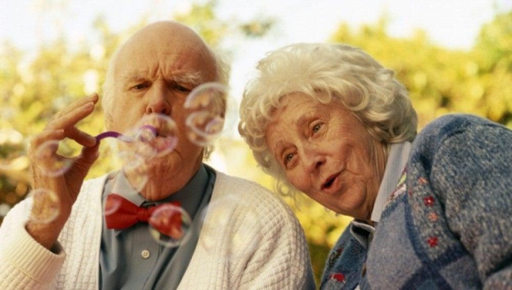 Una pareja de abuelos