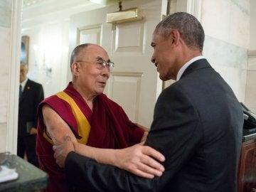 Obama recibe al Dalai Lama