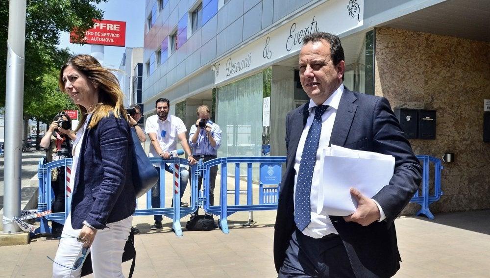 El fiscal Pedro Horrach y la fiscal Ana Lamas