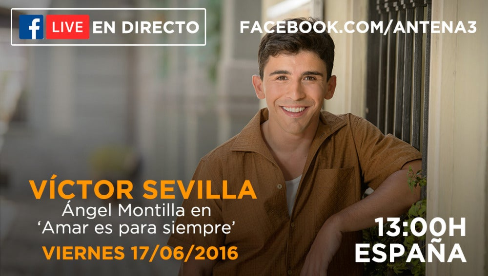 Facebook Live con Víctor Sevilla