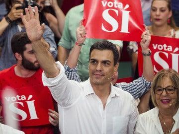 Pedro Sánchez, en Málaga