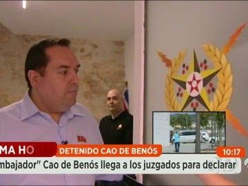"""Frame 11.38848 de: Cao de Benós: """"En ningún caso mi intención es ser millonario"""""""