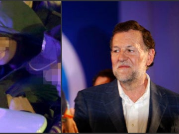 Rajoy, agredido en Pontevedra