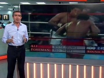 Frame 12.649791 de: Muhammad Ali , un campeón arrogante, pero no fanfarrón