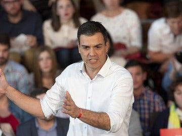 Pedro Sánchez, en Galicia