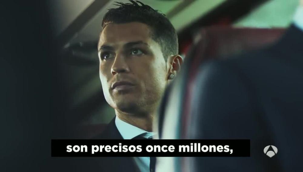 Cristiano Ronaldo, en un spot