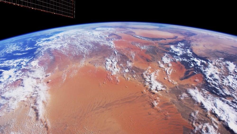 Imagen del vídeo de la NASA en 4K