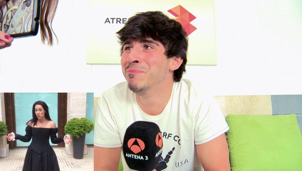 Víctor Sevilla recibe un emotivo mensaje de Eva Marciel, su madre en 'Amar es para siempre'