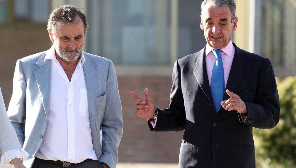 Mario Conde al salir de prisión