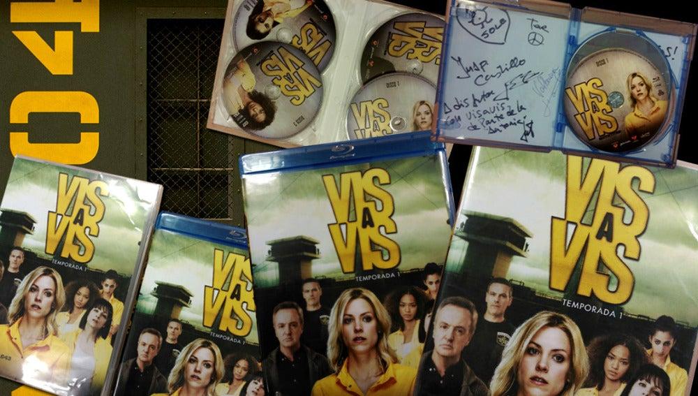 ¿Quieres conseguir un pack de 'Vis a Vis' firmado por sus protagonistas?