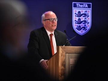 Greg Dyke, presidente de la FA