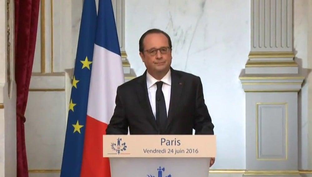 """Frame 2.649833 de: Hollande pide a la UE concentrarse en lo esencial ante la prueba del """"brexit"""""""