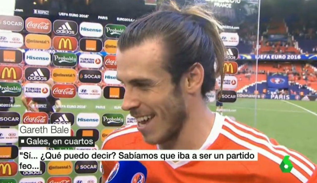 Gareth Bale, tras el partido ante Irlanda del Norte