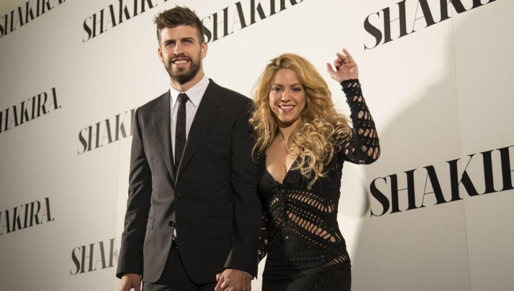 Shakira, con Piqué