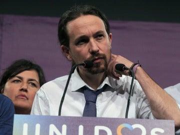 Pablo Iglesias comparece tras los resultados