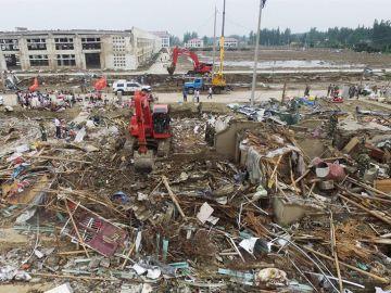 Tornado en China