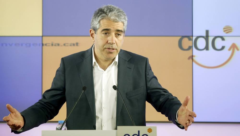 El cabeza de lista de CDC por Barcelona a las elecciones generales, Francesc Homs