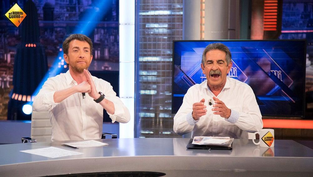 """Miguel Ángel Revilla: """"Tengo una hija que habla inglés como Obama"""""""
