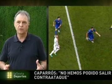 Joaquín Caparros, en laSexta Deportes