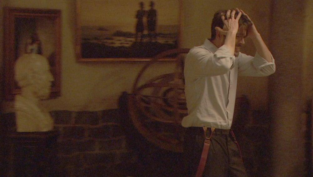 """Hernando estalla: """"¡Tengo que salir de aquí!"""""""