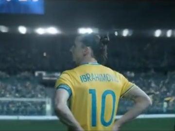 Zlatan Ibrahimovic, en un vídeo homenaje por su despedida