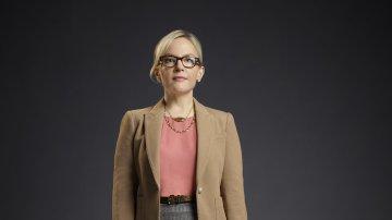 Rachael Harris es Linda Martin en 'Lucifer'