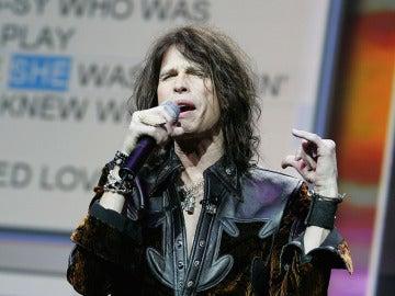 Tyler, cantante de Aerosmith