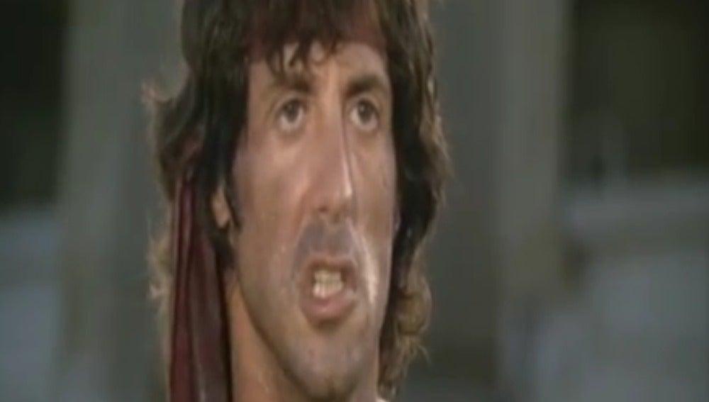 Un momento de la película Rambo
