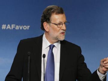 Comparecencia de Mariano Rajoy.