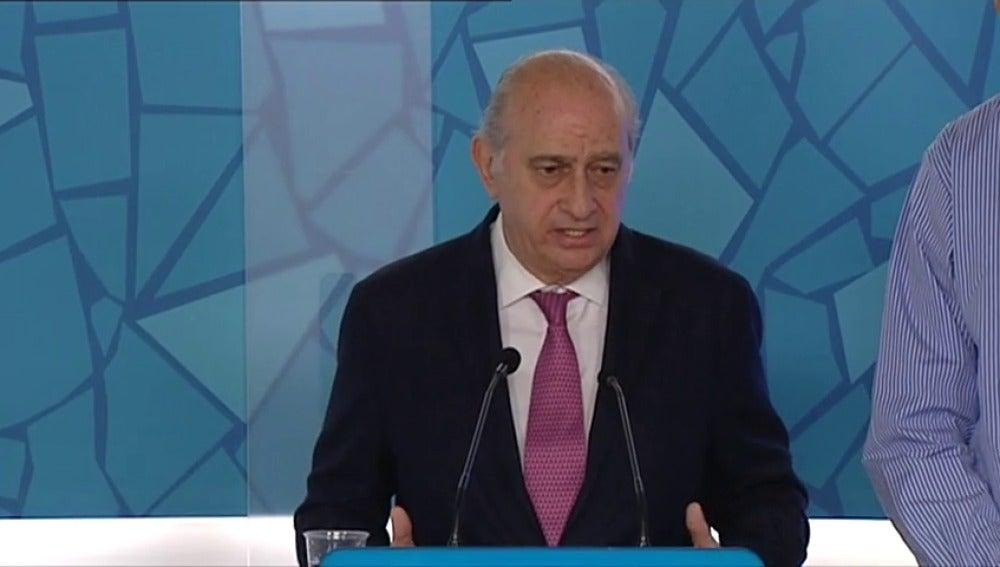 Frame 2.947502 de: CDC anuncia una querella contra Jorge Fernández Díaz