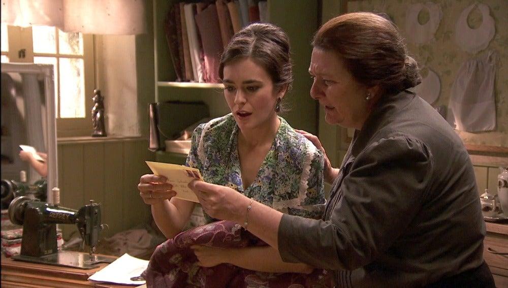 Rosario recibe una carta de su hija Mariana