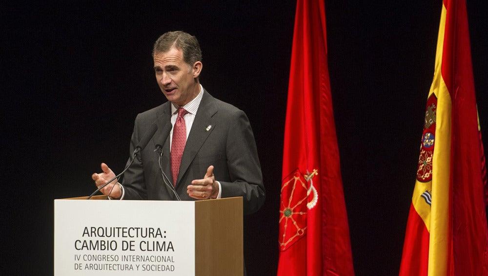El Rey Felipe VI en Pamplona