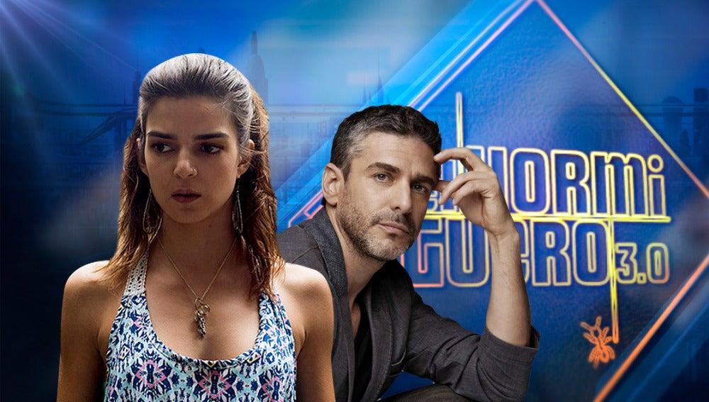 Clara Lago y Leonardo Sbaraglia en 'El Hormiguero 3.0'
