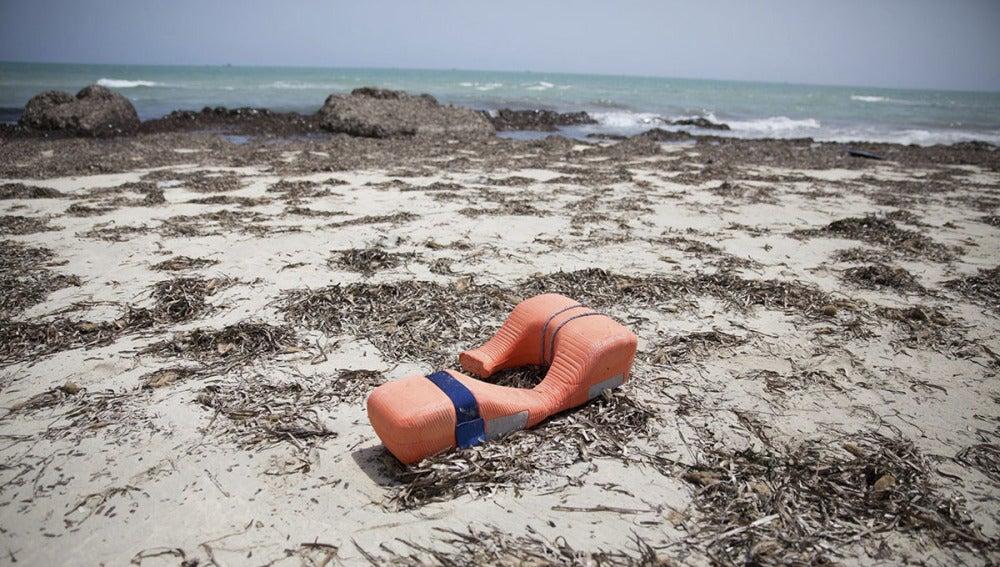 Salvavidas en una playa