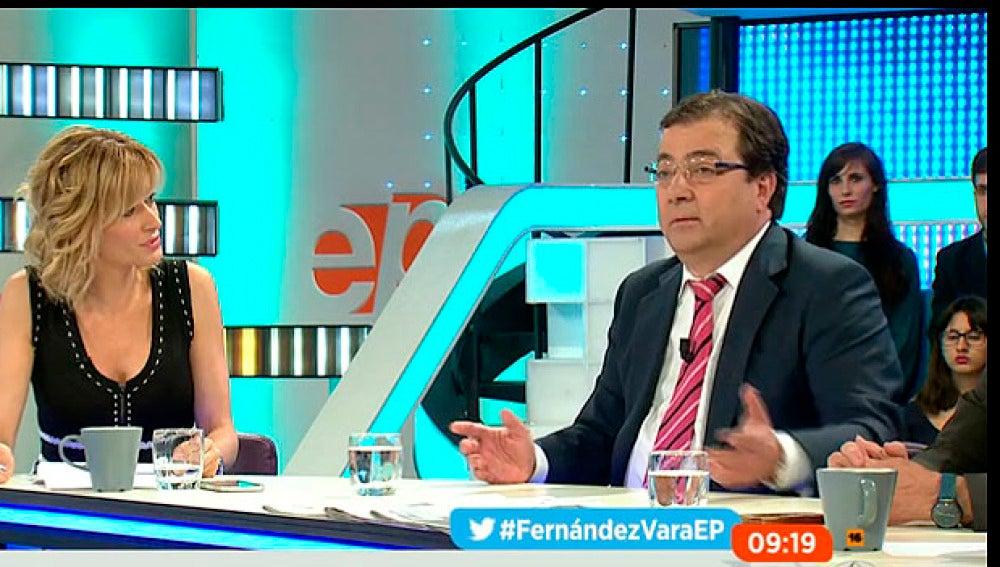Guillermo Fernández Vara en Espejo Público