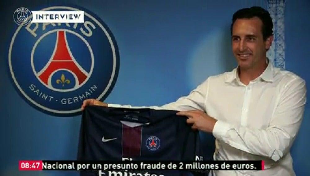 """Frame 9.720253 de: Emery ya se arranca con el francés: """"Tendremos un muy buen año en el PSG"""""""