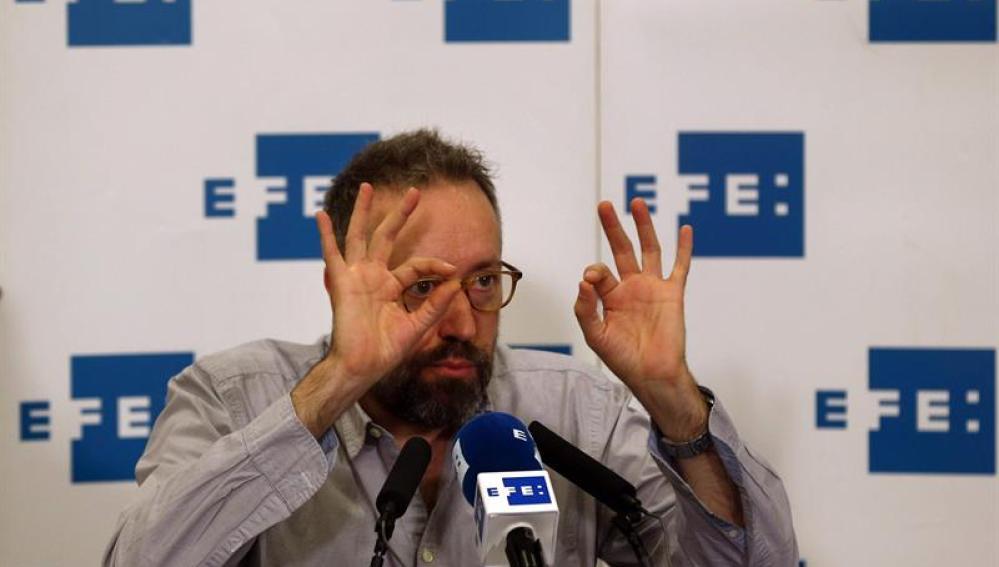 uan Carlos Girauta, portavoz de Ciudadanos