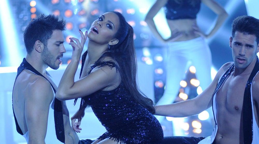 Cristina Pedroche imita a Ariana Grande