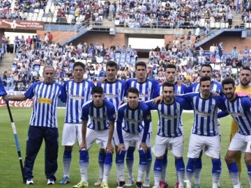 Plantilla Recreativo de Huelva