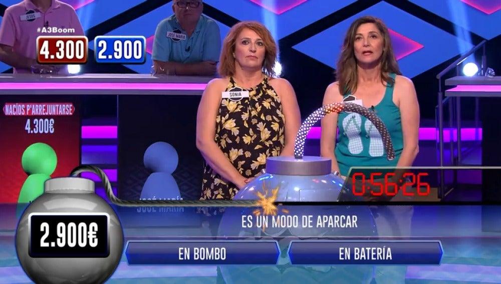 Frame 63.796256 de: Sonia y Eva se marcan una ronda casi perfecta