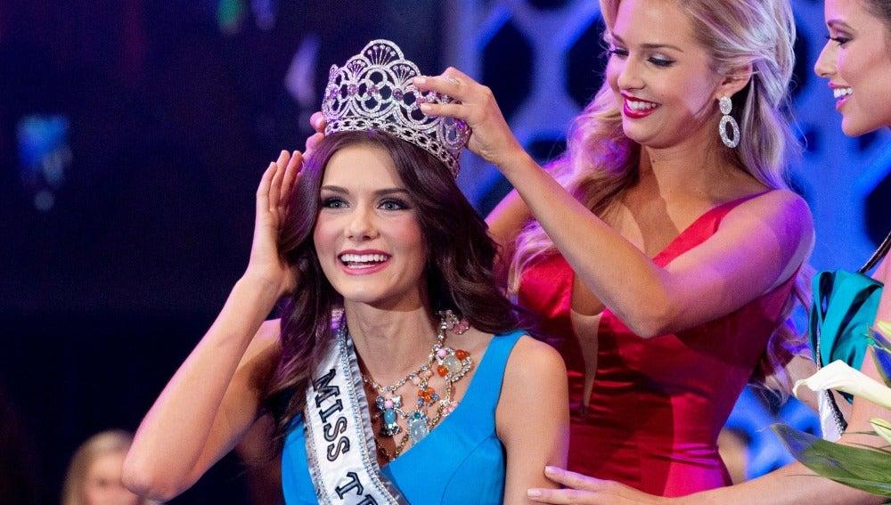Ganadora de Miss Teen USA.