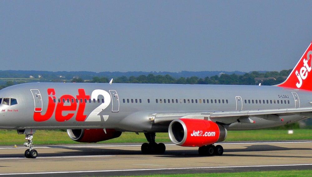 Avión de la aerolínea inglesa Jet2.