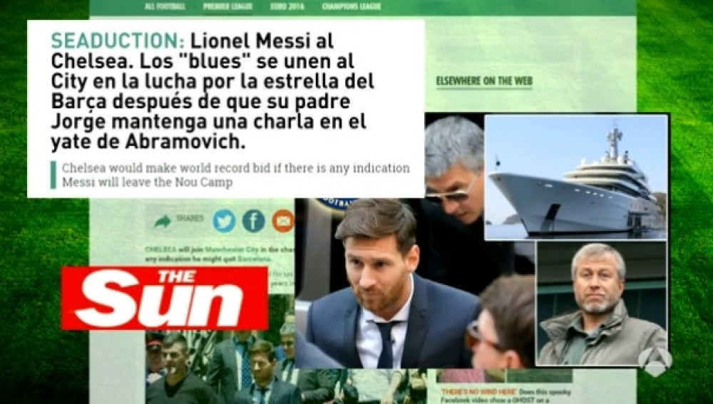 El Chelsea, a por Leo Messi
