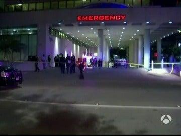 Hospital de Dallas donde se encuentran los heridos del tiroteo.