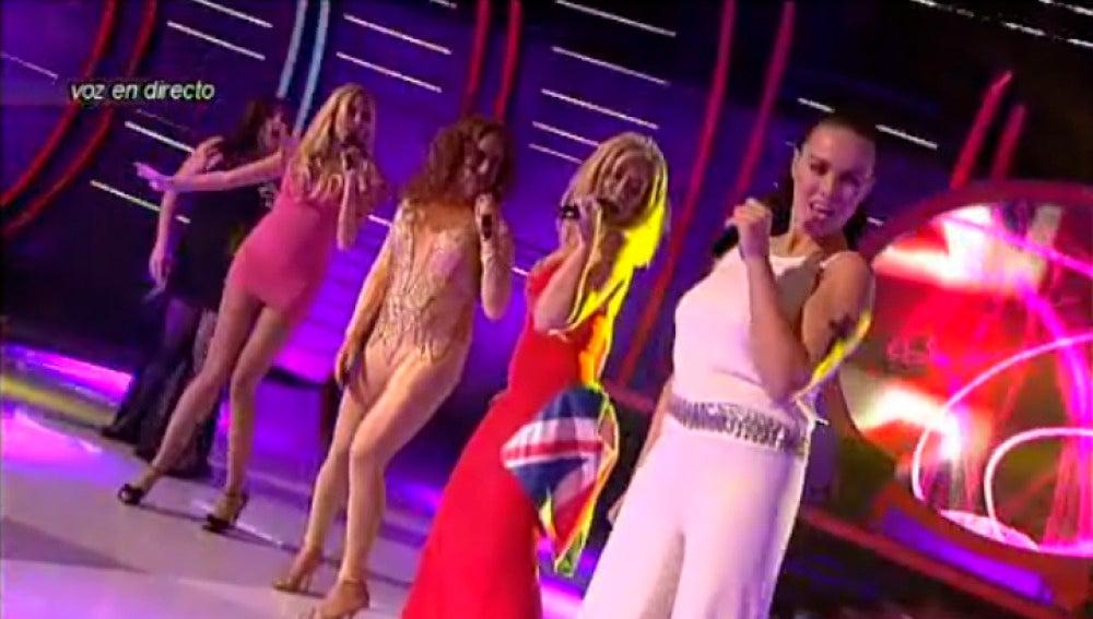 Imitación de las Spice Girls en 'Tu cara me suena'