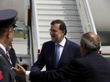 Rajoy en Varsovia