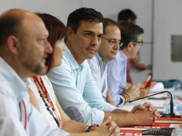 Sánchez en el Comité Federal del PSOE