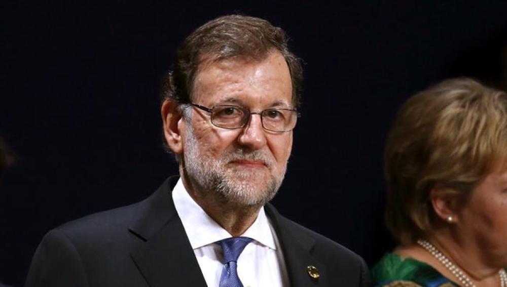 El presidente del Gobierno español, Mariano Rajoy, durante la sesión plenaria del Consejo del Atlántico Norte