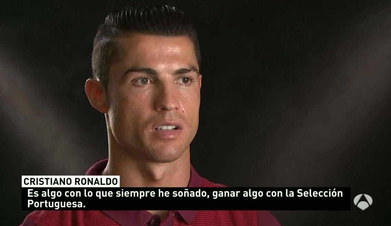 Ronaldo, en una entrevista